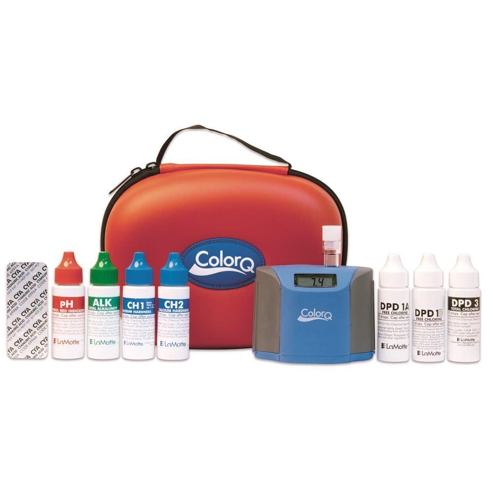 LaMotte ColorQ Pro 7 Digital Liquid Pool & Spa Chemical Water Testing Kit 2056