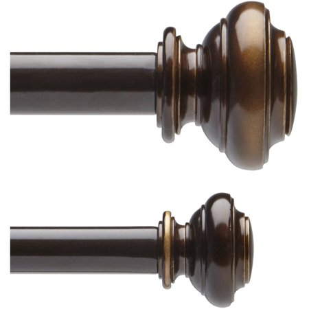 Better homes and gardens 5 8 double curtain rod set - Better homes and gardens curtain rods ...