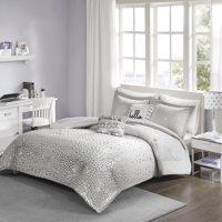 Home Essence Apartment Nova Metallic Triangle Print Comforter Set