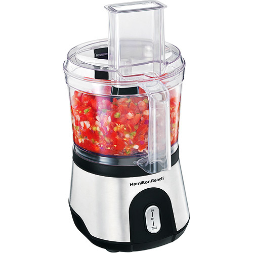 Hamilton Beach Food Processor 10 Cup Powerful 500 Amp Compact Chopper | Model# 70760