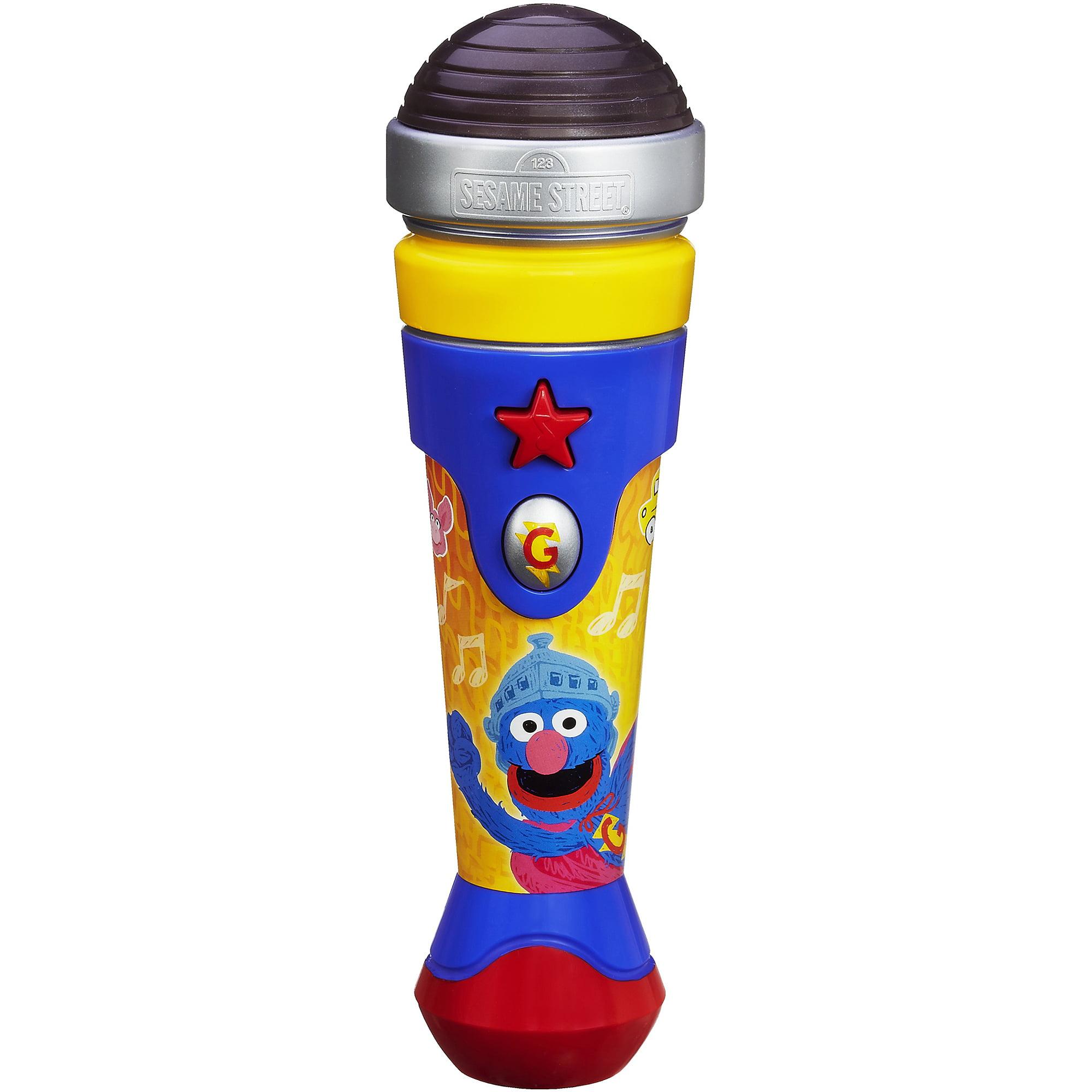 Sesame Street Ses Super Grover Microphone