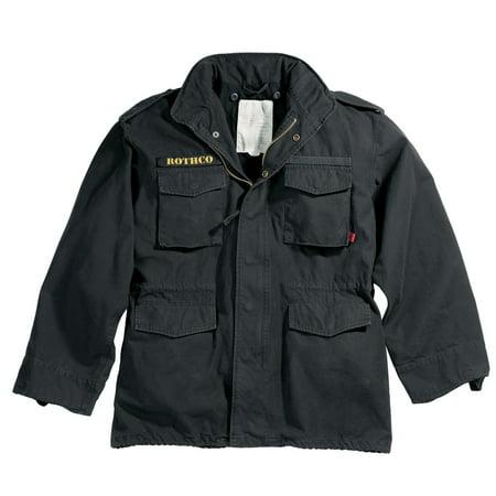 Vintage M-65 Field Jacket - Black - Size 2XL