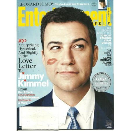 Entertainment Weekly March 13 2015 Jimmy Kimmel Best Deal L@@K !](Jimmy Kimmel Halloween Song)