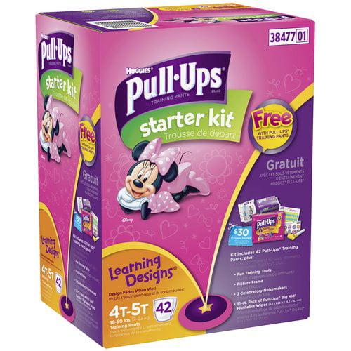 Huggies Pullups Girl 4-5t Bonus Monsters Big Pk