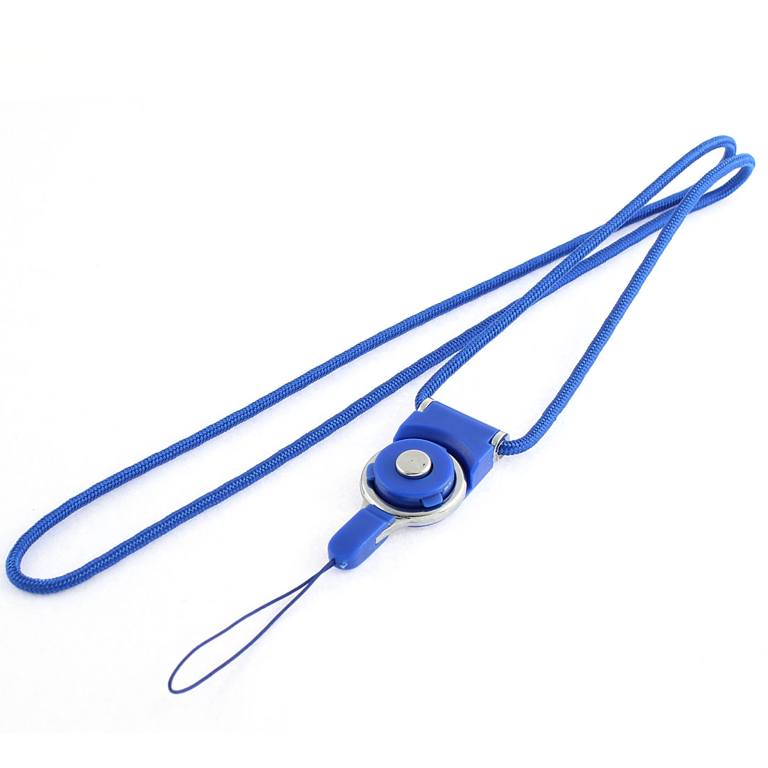 Blue Detachable Ring Neck Strap Lanyard for Camera MP3 Cell Phone - image 2 of 2