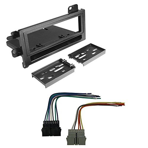 DODGE 1994 - 2001 RAM 1500 CAR RADIO STEREO CD PLAYER DASH INSTALL MOUNTING KIT HARNESS