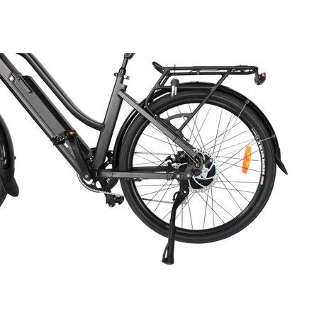 "T4B Pulse Low Step City Bike - Bafang 350W Brushless Electric Motor, 8 Speed, Samsung Li-Ion Battery 36V13Ah, 26"" Tires - Black - image 4 de 12"