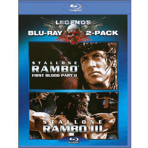 Rambo: First Blood II / Rambo: First Blood III (Blu-ray) (Widescreen)