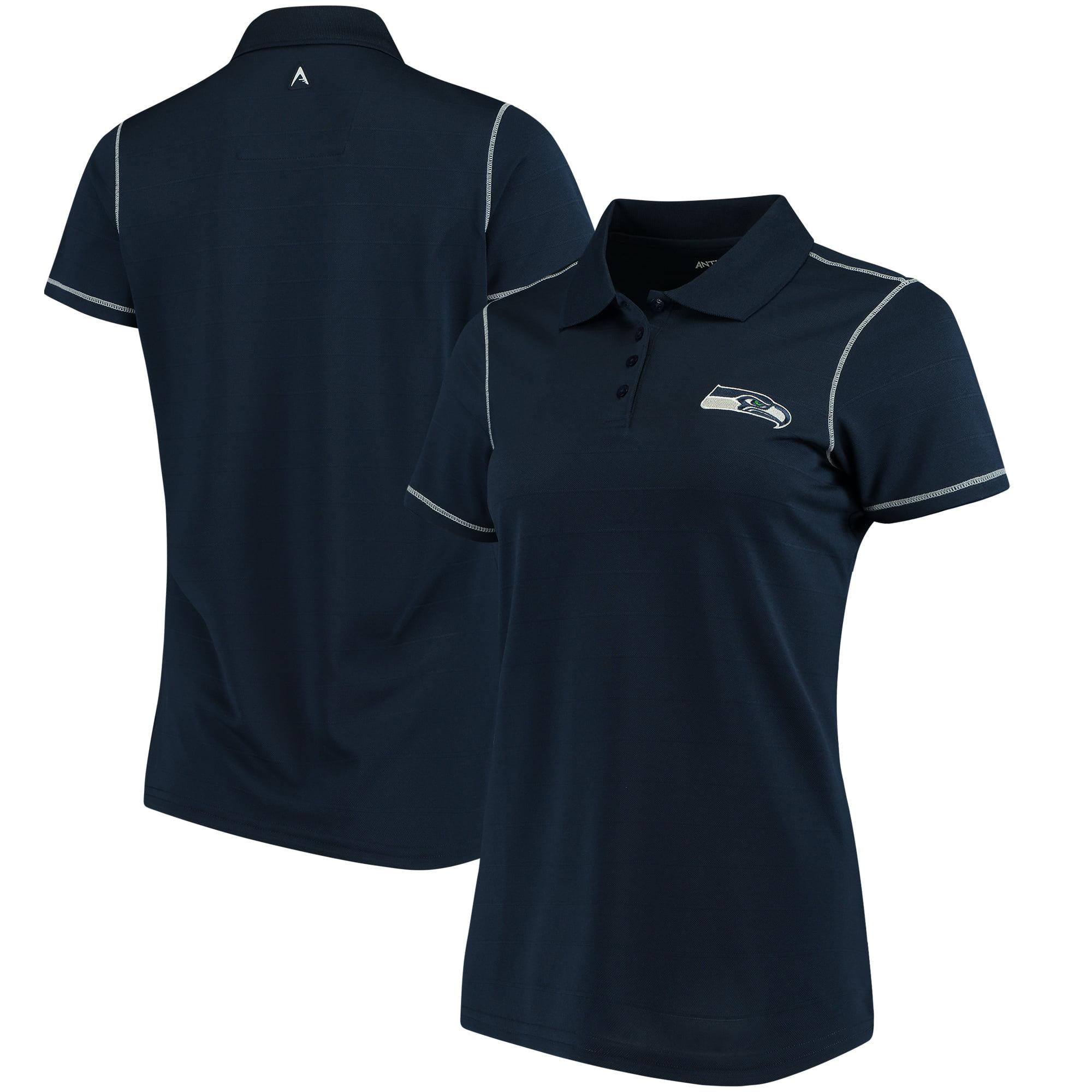 Seattle Seahawks Antigua Women's Icon Polo - College Navy