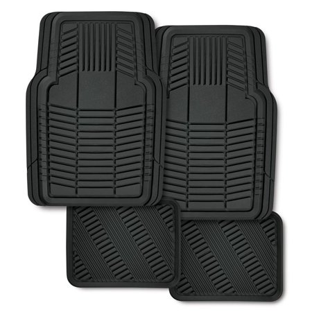 Automotive floor mats 4 pc set walmartcom for Mechanic floor mats
