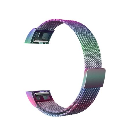 Replacement Magnetic Wrist Band Watch Strap Bracelet For Fitbit Charge 2 - image 2 of 9
