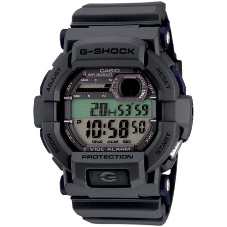 Casio GD350-8B Men's Flash Alert World Time Alarm Chronograph Grey G Shock Watch Change Time Casio G-shock Watch