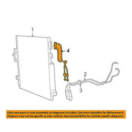 Jeep CHRYSLER OEM Liberty Transmission Oil Cooler-Oil Cooler Line - Ax5 Jeep Transmission