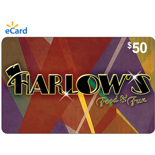 Harlow's $50 eGift Card (Email Delivery)