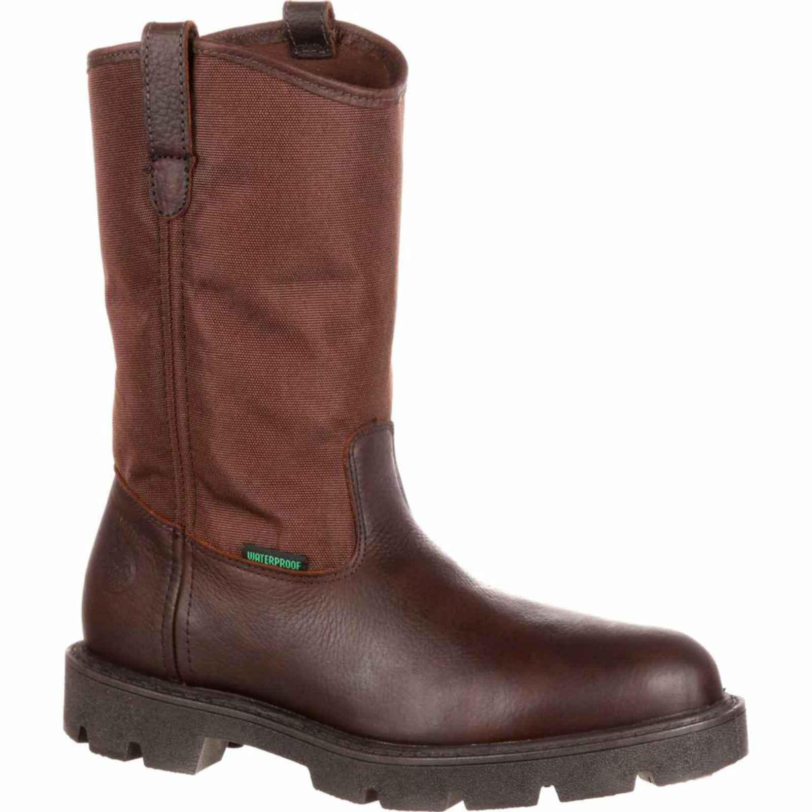 Georgia Homeland Waterproof Wellington Work Boot G113