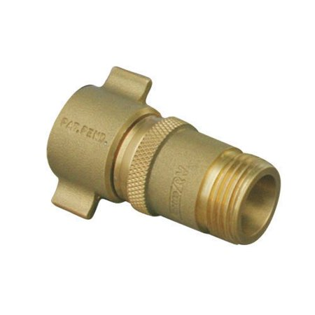 Brass Water Hose - Camco Brass Water Regulator
