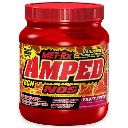Amped Ecn Nos 2Lb Tub  Fruit Punch