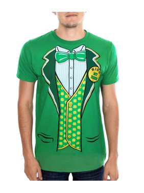 c0370191f Product Image St. Patrick's Day Tuxedo Leprechaun Suit T-Shirt