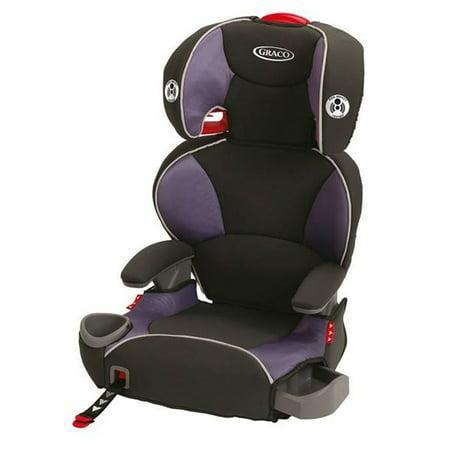 graco affix high back booster car seat grapeade. Black Bedroom Furniture Sets. Home Design Ideas