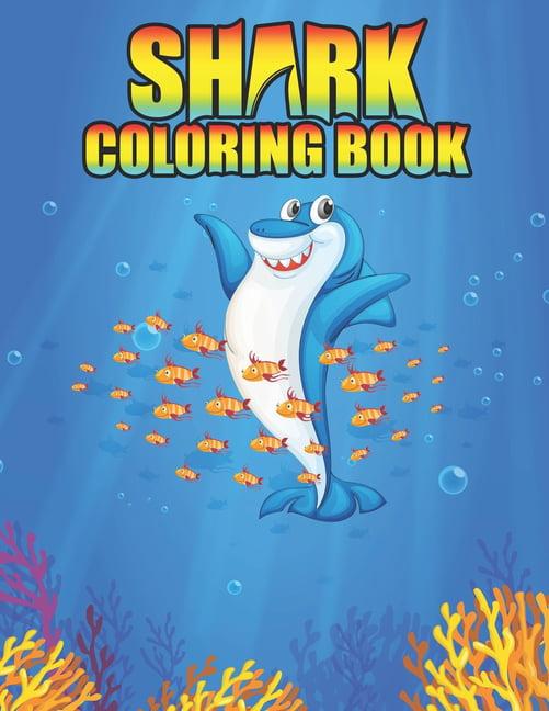 Shark coloring Book : Shark coloring Book for Kids ...