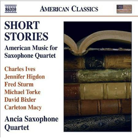 Short Stories: American Music for Saxophone Quartet Free Saxophone Quartet Music