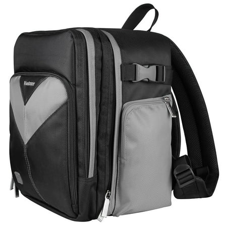 Sparta Backpack Bag for DSLR Compact Cameras & Tablets Compatible with Nikon, Samsung, Sony, Canon devices up to 6 x 4