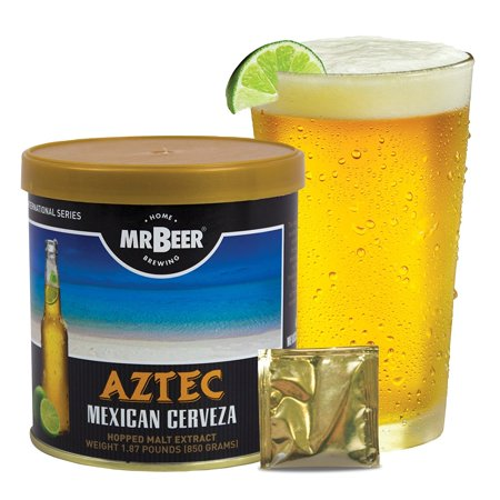 Mr. Beer Aztec Mexican Cerveza Beer Making Refill Kit