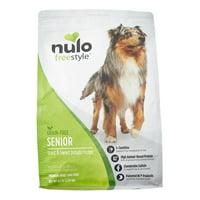 Nulo Freestyle Trout & Sweet Potato Senior Dry Dog Food, 4.5 Lb