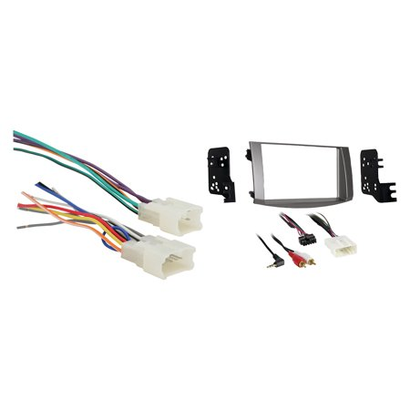 Toyota Avalon (without JBL amp) 2005-2010 Double DIN Metra Car Stereo Installation Package