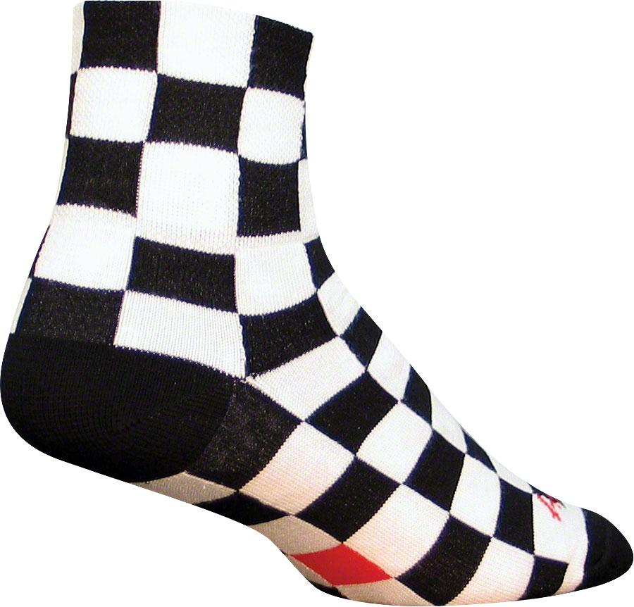 SockGuy Wool Tall Black Sock Black SM//MD