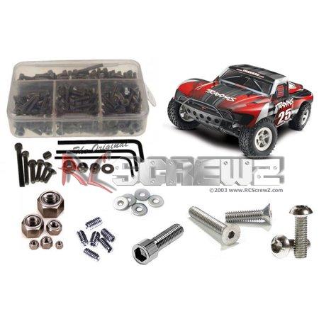 RC Screwz Stainless Steel Screw Kit for Traxxas Slash 2wd #tra033