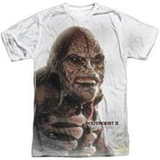 Poltergeist Men's  Creature Sublimation T-shirt White