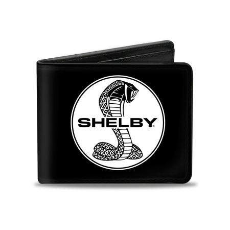 Bi-Fold Wallet Shelby Tiffany Split + Signature Black/White (Tiffany Signature)