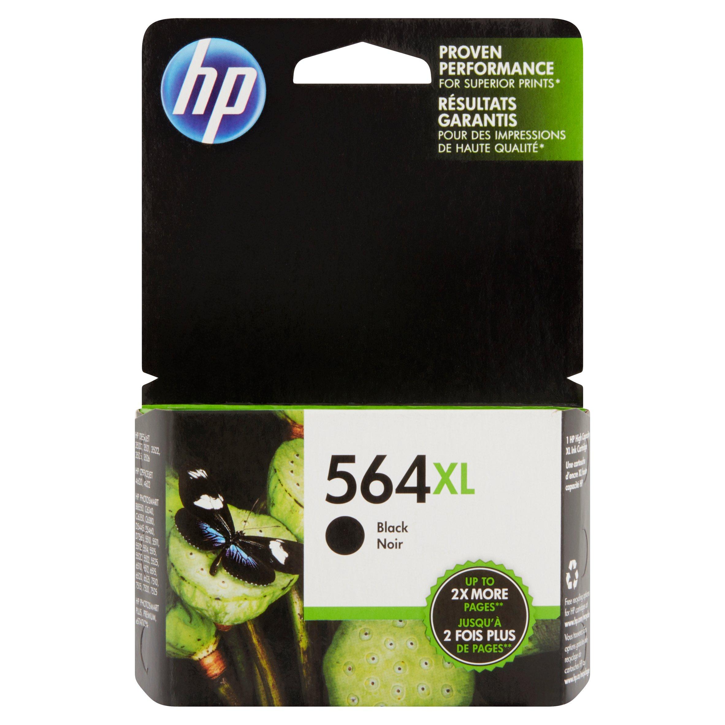 HP 564XL, (CN684WN) High Yield Black Original Ink Cartridge