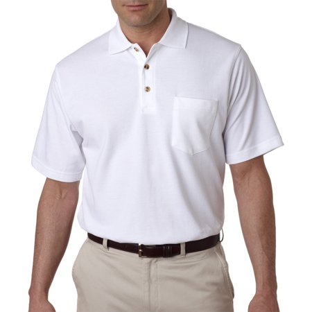 Classic Pique Polo with Pocket