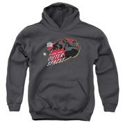The Iron Giant Outer Space Big Boys Pullover Hoodie