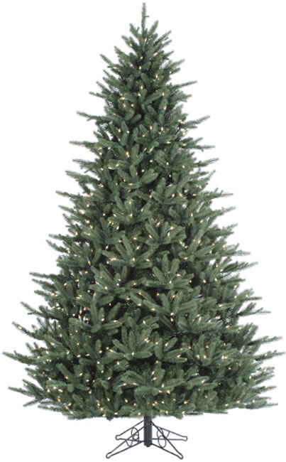 12 Foot Stay lit Realistic Christmas Tree Asheville Fraser Clear ZdmlInco