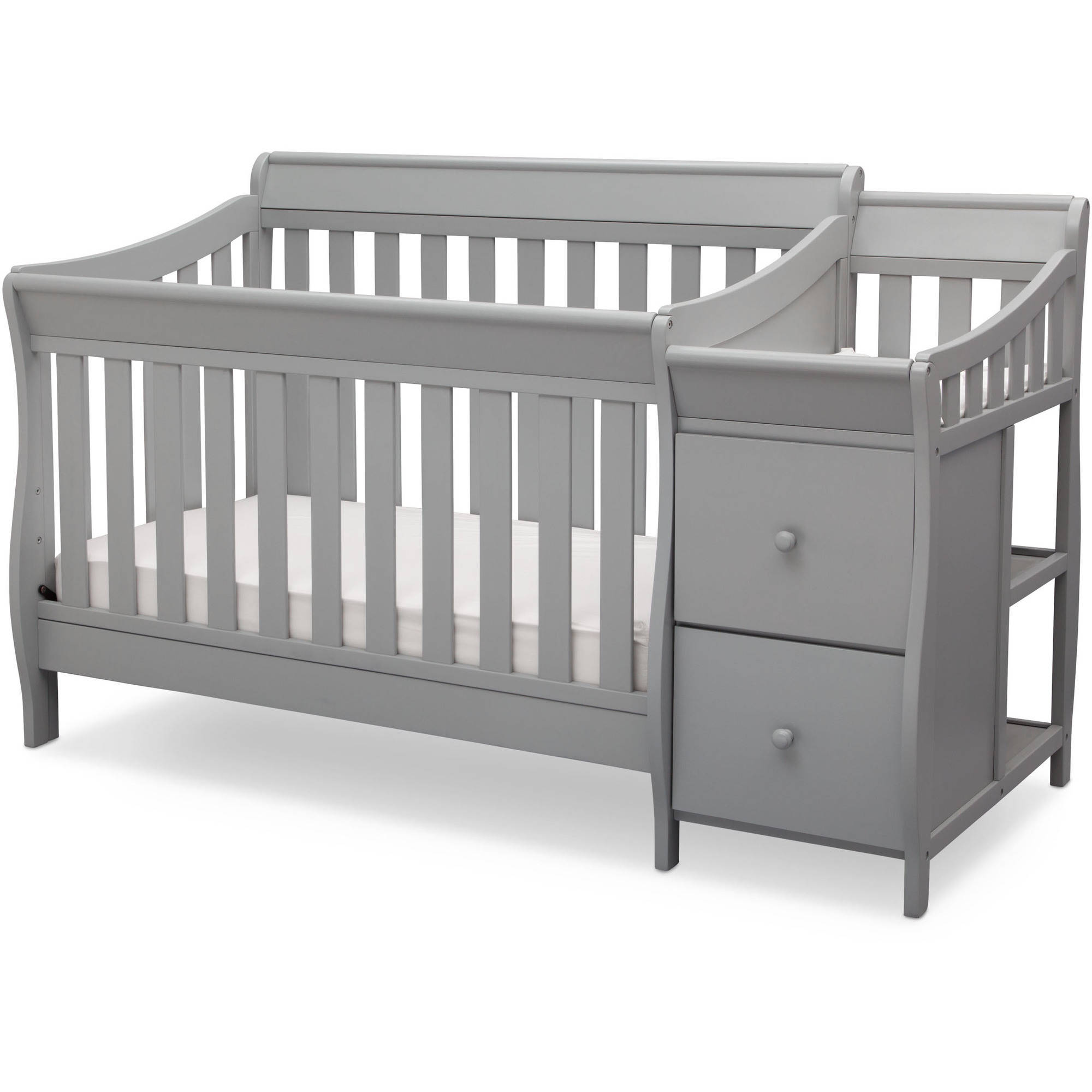 Delta Children Bentley S Convertible Crib N Changer Combo