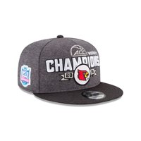 Louisville Cardinals New Era 2018 ACC Women's Basketball Conference Tournament Champions Locker Room 9FIFTY Snapback - OSFA