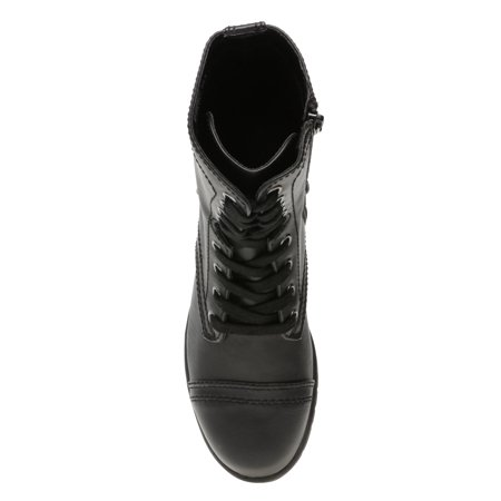 Time and Tru Lace Up Boot (Women's) (Wide Width Available)