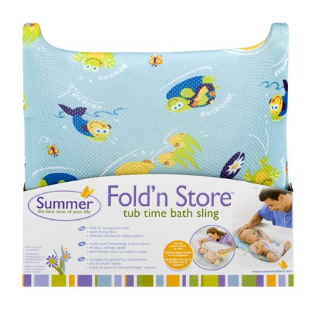 (Summer Fold'n Store Tub Time Bath Sling, 1.0 CT)