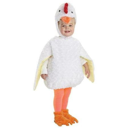 Chicken Costume Toddler (Morris Costumes UR25979TMD Chicken Toddler)