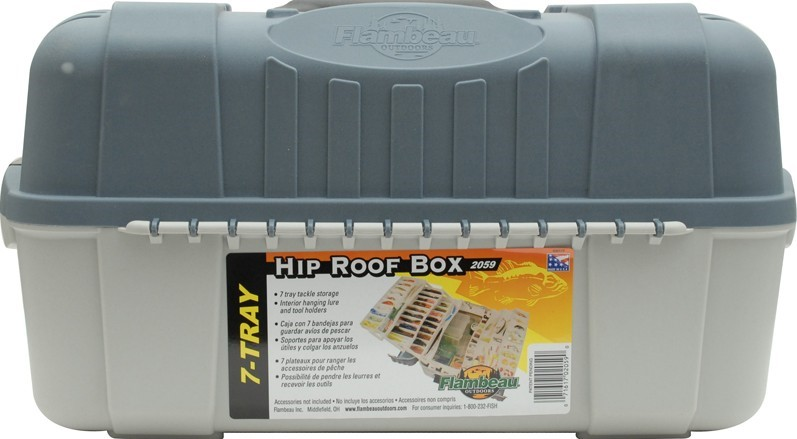 Flambeau Hip Roof Box