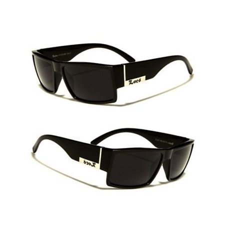MEN DARK LENS GANGSTER BLACK OG SUNGLASSES LOCS BIKER GLASSES
