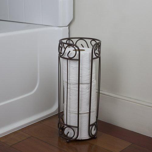Home Basics Bronze Bath Tissue Reserve