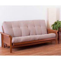 Full Size Solid Twill Premium Futon Mattress