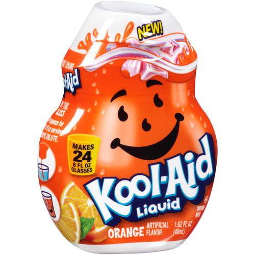 Kool-Aid Orange Liquid Drink Mix, 1.62 fl oz