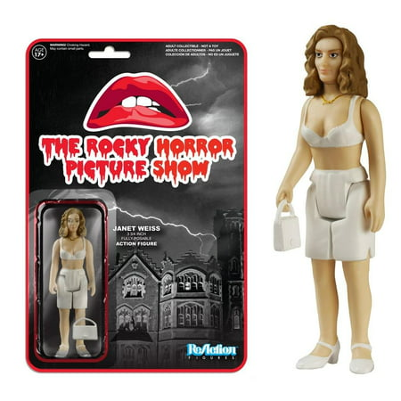 Funko The Rocky Horror Picture Show Reaction Janet Weiss Action Figure](Rocky Horror Characters)