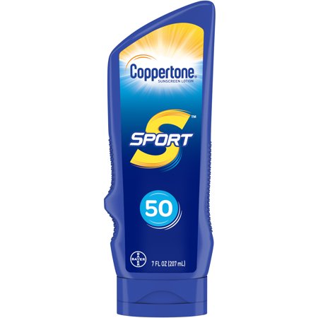 Coppertone Sport Sunscreen Lotion SPF 50, 7 Fluid Ounces