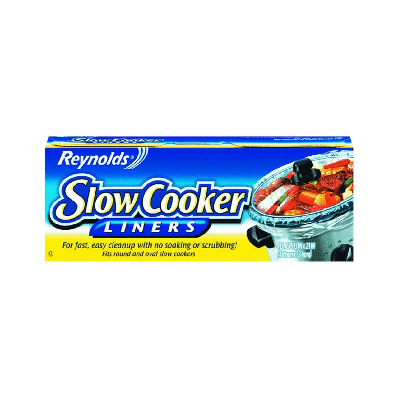 """Reynolds Metals 00504  Liners 13""""X21"""", Ship from USA,Brand SLOW COOKER"""